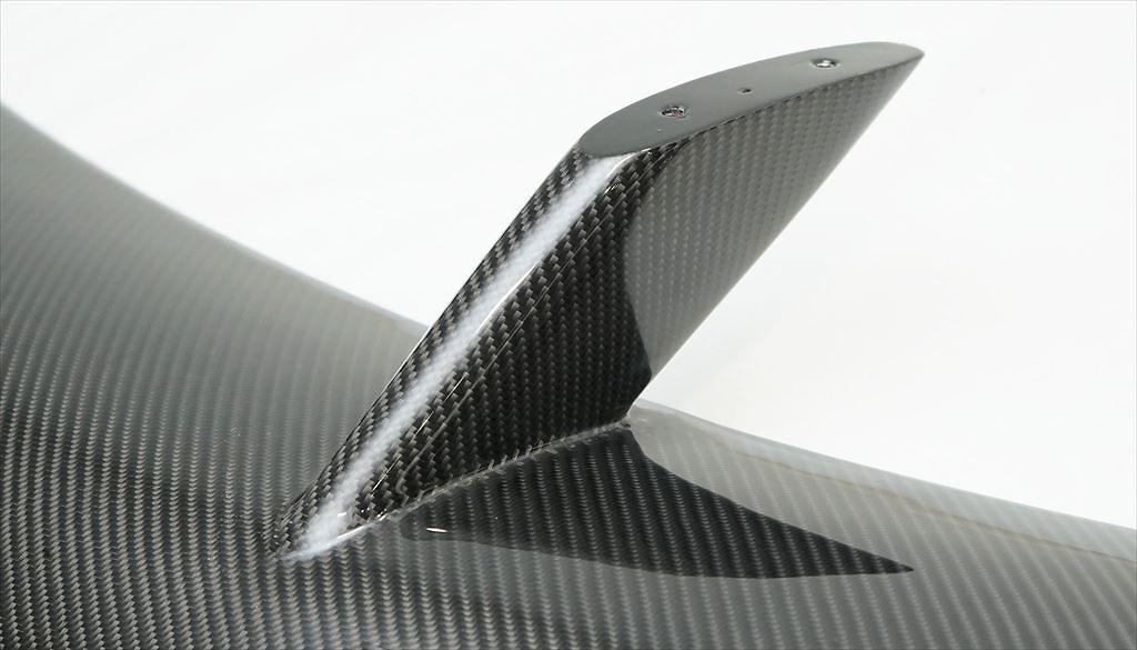 Rear Wing - Construction: Carbon Fiber - AIMSP-A90-RWC