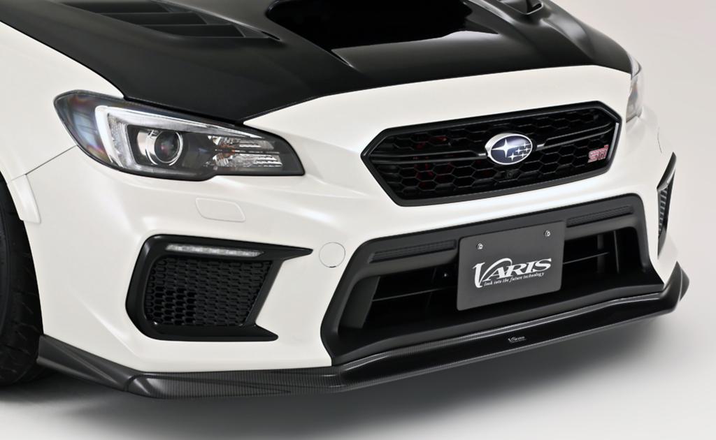 Front Lip Spoiler - Construction: Carbon - VASU210C