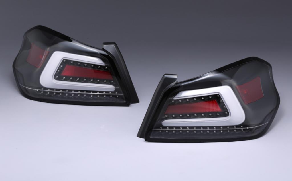 LED Tail Lamp - Colour: Dark Clear - VLSU-008