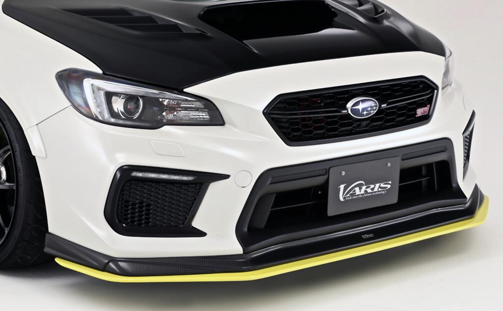 Extension Lip for Front Spoiler - Construction: FRP - Colour: Unpainted - VASU211