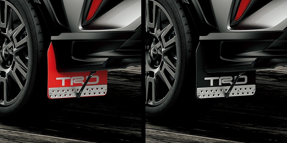 Mud Flaps - Construction: Resin (EVA) - Colour: Red - MS328-10002