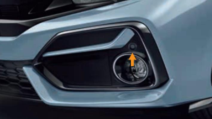 Front Corner Parking Sensor (4 Corner Senor System) - Category: Electrical - 08V67-E8M-0D1K