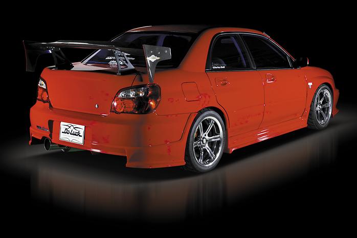 3 Piece Kit: Front Bumper Spoiler with Carbon Undercover + Side Steps + Rear Half Spoiler - Construction: FRP/Carbon - Colour: Unpainted - DLAP-GDC-3PKC