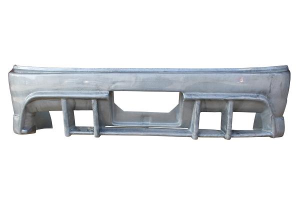 Rear Bumper - Construction: FRP - Colour: Unpainted - D-231-02