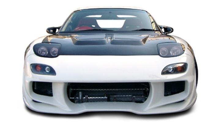 Front Bumper - Construction: FRP - Colour: Unpainted - WS-FD3S-FB