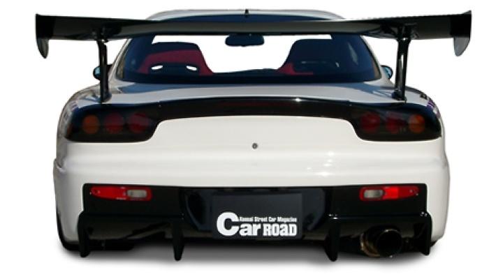 Rear Bumper - Construction: FRP - Colour: Unpainted - WS-FD3S-RB