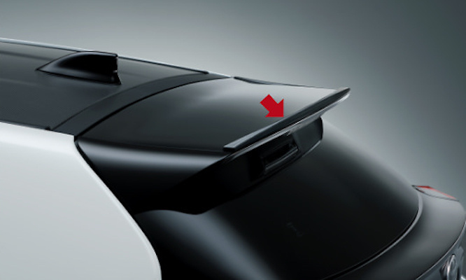 GR Front Spoiler (with Rear Wing Extension) - Construction: Resin (PPE) - Colour: Black (212) - MS341-52032