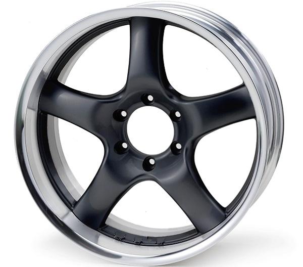 Rim: Buffed Anodized Aluminum, Disc: Gun Metallic