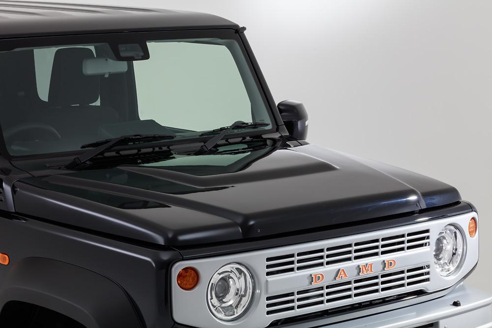Bonnet Hood Cover - Construction: ABS - Colour: Unpainted - DAMD-JSLB-BHC