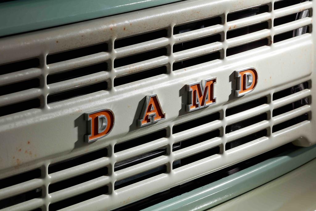 DAMD American Emblem - Colour: Orange/Silver - DAMD-JSLB-DAE