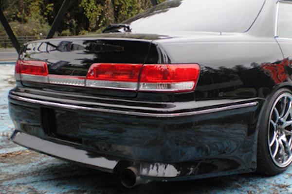 Rear Bumper Spoiler - Construction: FRP - Colour: Unpainted - CMTE-VER-MKII-RBS
