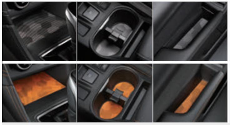 Interior Sheet - Category: Interior - Colour: Grey - J1317FL320