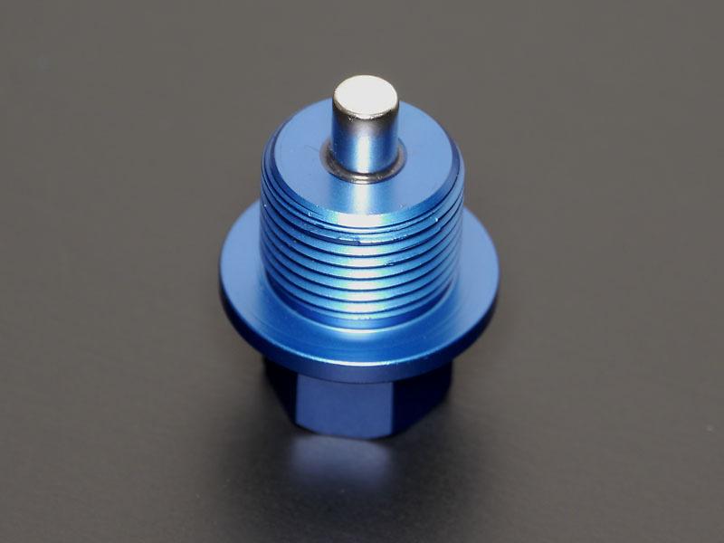 Neodymium Aluminum Drain Bolt - Thread: M20 × P1.5 - 00B 001 ND04
