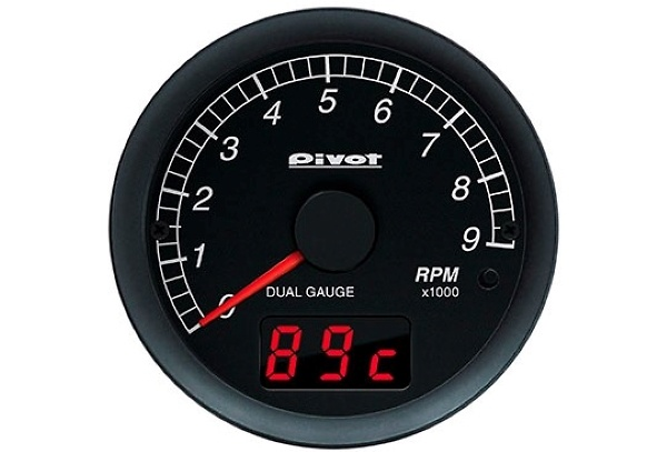 Type: Tachometer (Sensor Connection) - Color: White - Diameter: 60mm - DST
