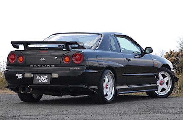 Hasemi Motor Sport - Aero Parts - R34 Skyline Coupe