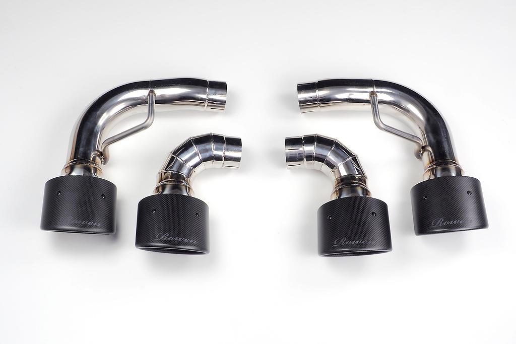 Muffler cutter Carbon tail - Construction: SUS304 / Carbon Fiber - 1L007Z30