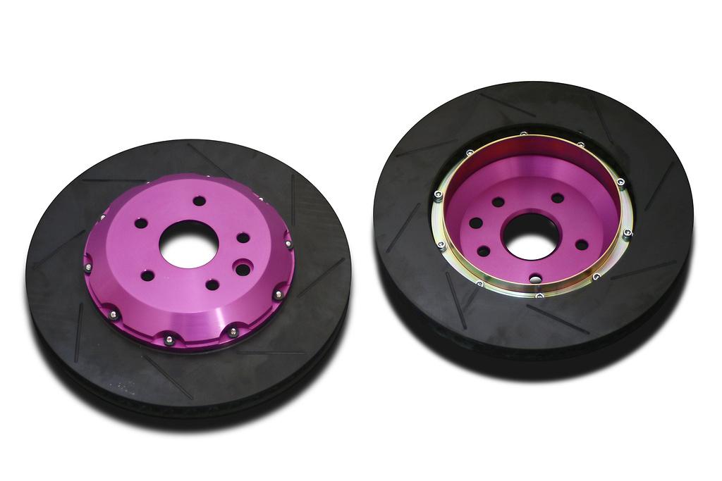 Type: Rear Set - Size: 345mm x 28mm - Color: Purple - BR.R2.LX14R