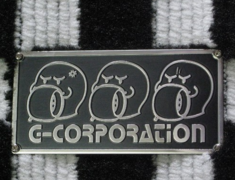G-Corporation - OBAKE Checkered Floor Mats