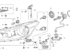 Honda - OEM Parts - Inspire - CP3