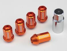 RAYS - L42 Duralumin Straight Lock & Nut Set