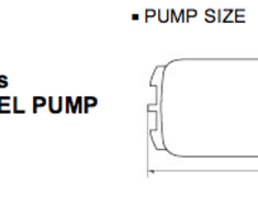 Tomei 250L/h Internal Fual Pump
