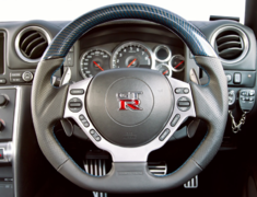 Top Secret - Carbon Steering Wheel for R35