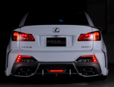 Black Pearl  - Lexus IS250/350 Exclusive Exhaust