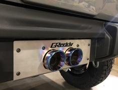 Car Style - CST WR Exhaust Muffler for Jimny Sierra
