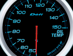 Defi Link Meter - ADVANCE BF - Oil Temperature - Blue