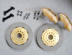 Pit Road M - Racing Brake Kit for Pulsar