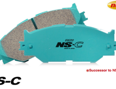 Project Mu - Brake Pads - Type NS-C - Front and Rear Set