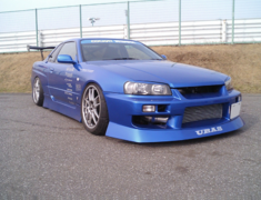 URAS - R34 Skyline 2 Door D1-Spec 2