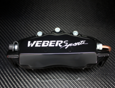 Weber Sports Caliper Covers - Black