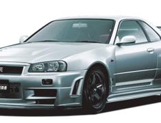 Nismo - Aero Parts - R34 GTR Omori Factory - Z-Tune Original Dry Carbon