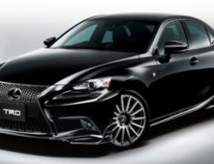 TRD - Lexus IS F Sport Aero Parts and Muffler