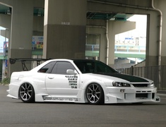 URAS - NISSAN ER34 2 DOOR BODY KIT