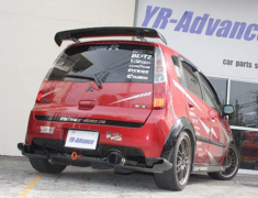 YR Advance - Rear GT Wing for Ralliart Colt