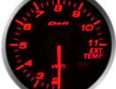 Defi - Link BF Meter - Exhaust Temperature - Amber