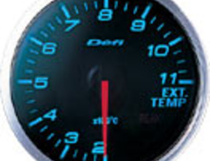 Defi - Link BF Meter - Exhaust Temperature - Blue
