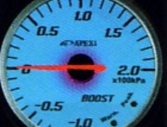 Apexi - EL2 System Meter - Water Temperature - Cool Blue Illumination