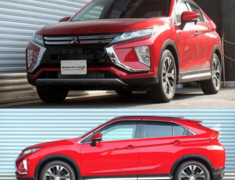 Eclipse Cross - GK1W - Front Rate: 3.47kg/mm - Front Height: -20-25mm - Rear Rate: 3.57kg/mm - Rear Height: -35-40mm - B071TD