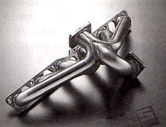 HKS - Stainless Exhaust Manifold