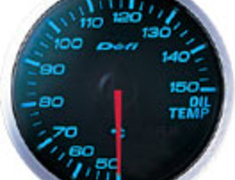 Defi - Link - BF Meter - Oil Temperature - Blue