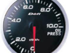 Defi - Link - BF Meter - Oil Pressure - White