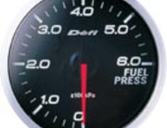 Defi - Link - BF Meter - Fuel Pressure - White