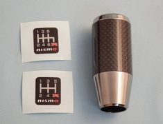 Nismo - Aluminium Carbon Shift Knob