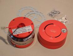 RapFix II Red & Silver Stripe Quick-release & Lock set