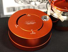 RapFix II Red & Silver Stripe Quick-release