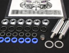 Tom's Set Collar Injector(x6), O-Ring(x6), Insulator(x6), Gasket(x2), Duracon Collar(x6), Plug NPT1/