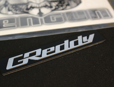 - Greddy Emblem for Intake Plenum - 18000202